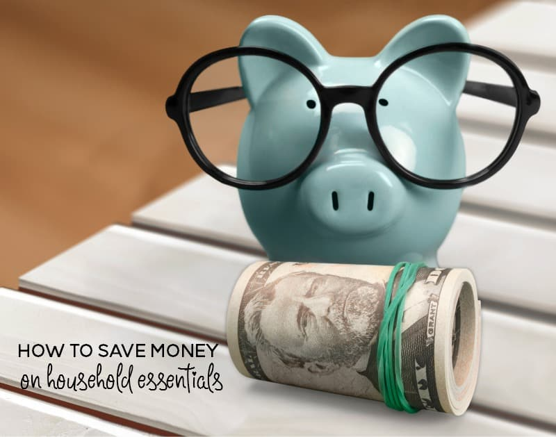 how to start saving money on household essentials