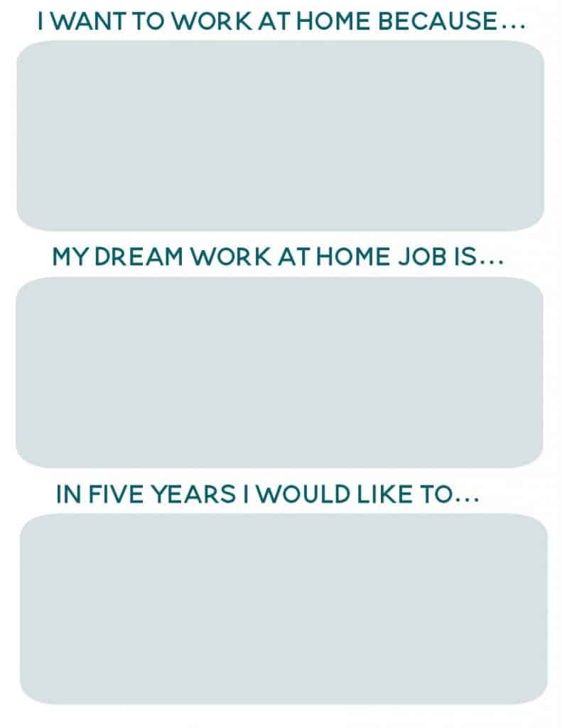 i want to work at home sheet teal