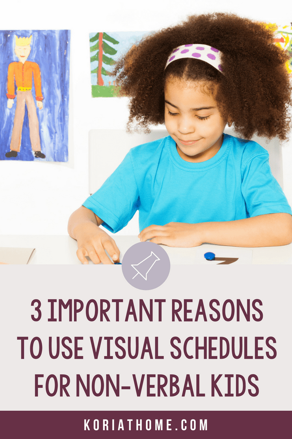 The Importance of Visual Schedules for Non Verbal Autistic Children 4
