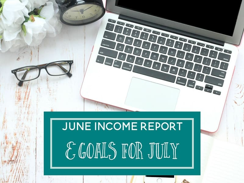 June 2016 Income and Traffic Report + Goals for July
