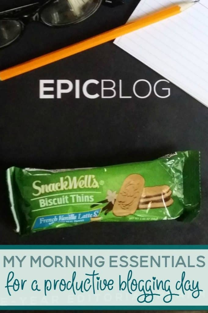 Some mornings I feel like I'm ready to take on the world. And other mornings, I could definitely do with a few more hours of sleep. Still, I don't let that stop me from making the most of it. Here are my morning essentials for a productive day of blogging and momming. #BiscuitBreak ad