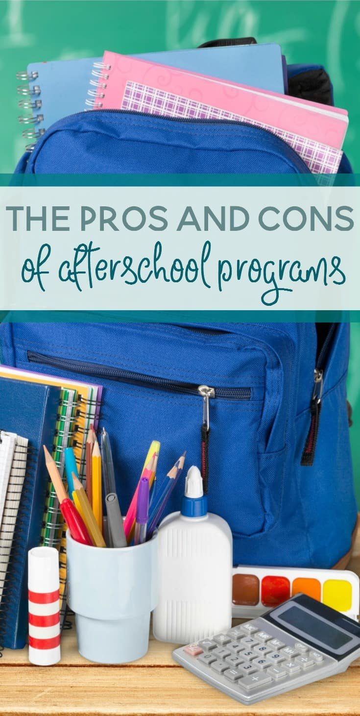 While it may seem appealing to enroll your child in every single after school opportunity, we do need to draw the line somewhere. Afterschool programs can be great for kids, but they can also be too much. Let's look at the pros and cons of afterschool programs.