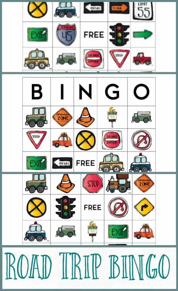 road trip bingo preview