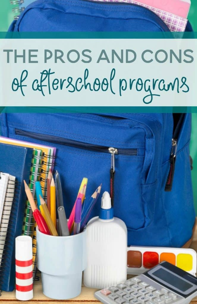 Do all children really need or benefit from an afterschool program? Let's talk about the pros and cons of afterschool programs.