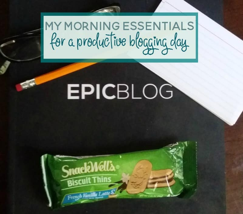 Some mornings I am ready to take on the world. And other mornings I could use a few more hours of sleep. Here are my morning essentials to set myself up for a productive day. #BiscuitBreak ad