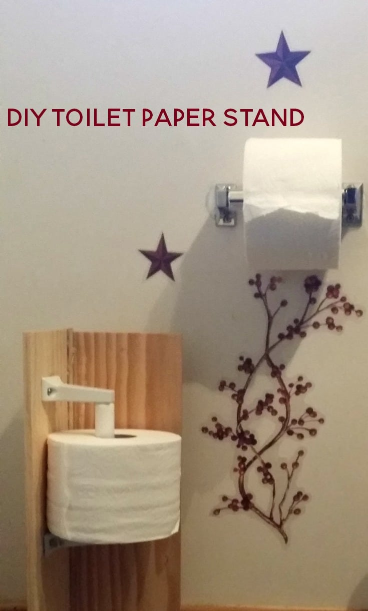 diy toilet paper stand for the non diyer