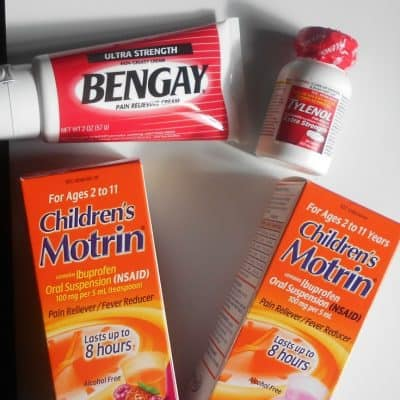 Back to School Medicine Cabinet Must Haves