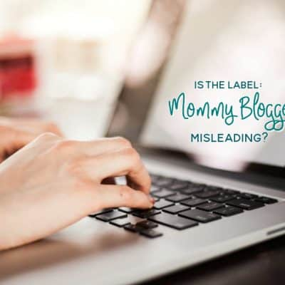 I'm More Than a Mommy Blogger