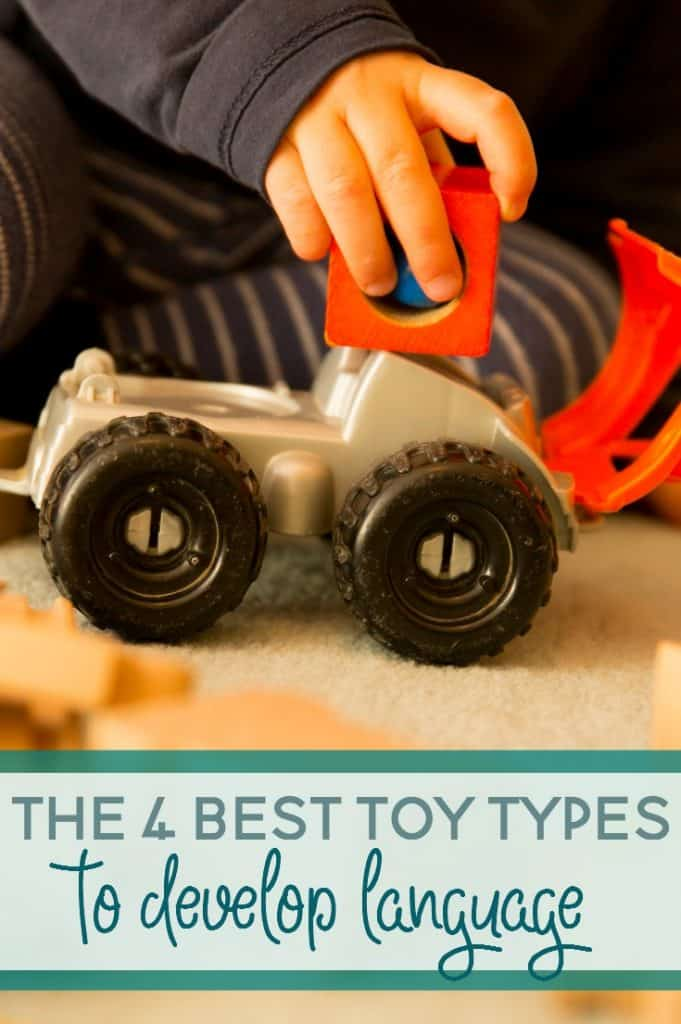 Do you know what the best types of toys are for developing language?