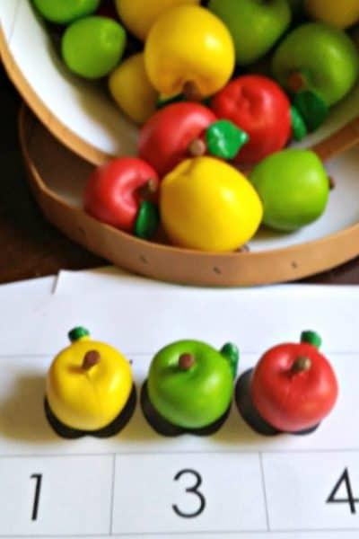 Apples Tot School Unit featuring Apples, Apples Tot Pack