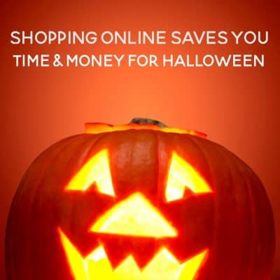 4 Reasons Why It Saves Time and Money to Shop Online for Halloween