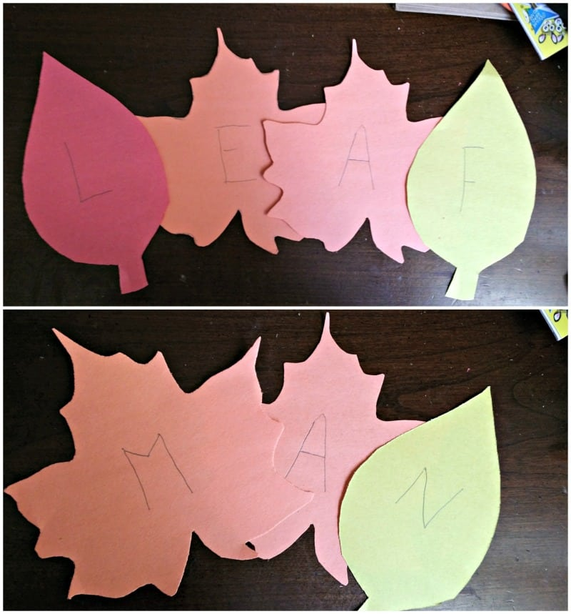 spelling-out-leaf-man