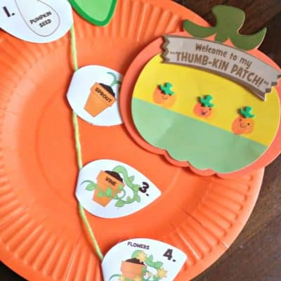 Toddler Friendly Pumpkin Themed Crafts for Fall or Halloween