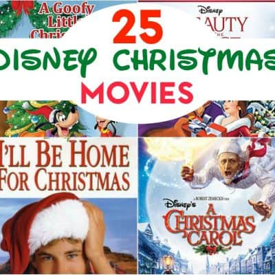25 Disney Christmas Movies to Have Your Own Christmas Countdown