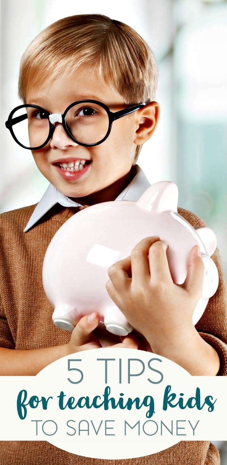 Learning how to save money is a skill that sometimes comes naturally. But for others, we could definitely use a little work. Here are 5 tips to teach your kids how to save money.