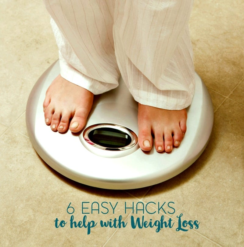 6 Easy Lifestyle Hacks to Help with Weight Loss