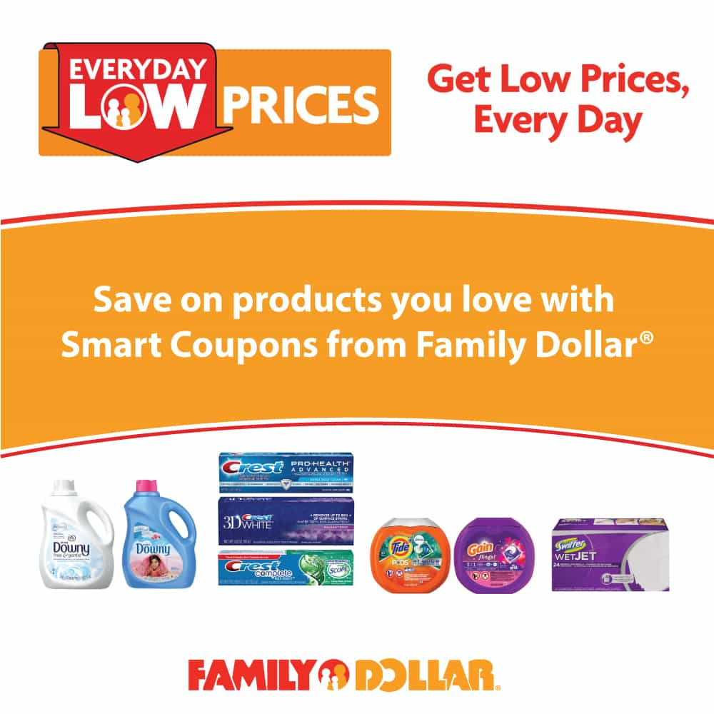 Save Even More at Family Dollar® with Smart Coupons