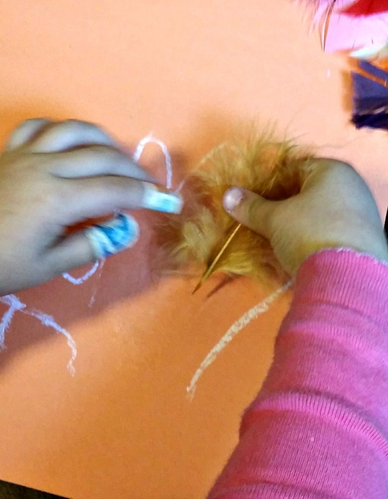 applying-feathers-to-the-turkey