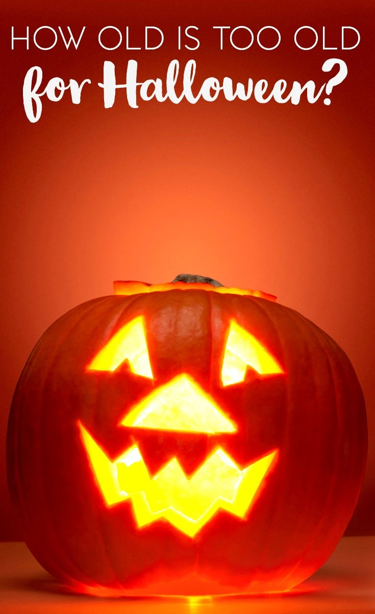 How Old is Too Old to Participate in Halloween Activities?