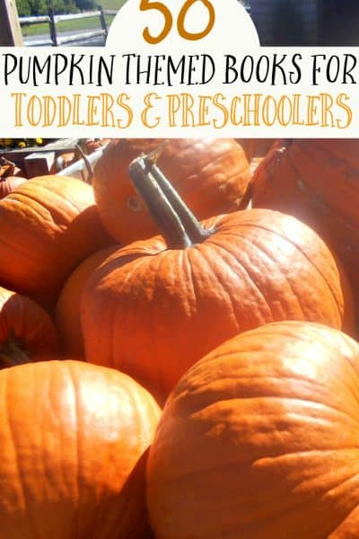 50 Pumpkin Books for Toddlers and Preschoolers