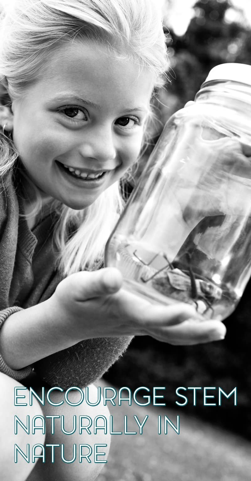 Encourage your daughter's interest in STEM by exploring nature.