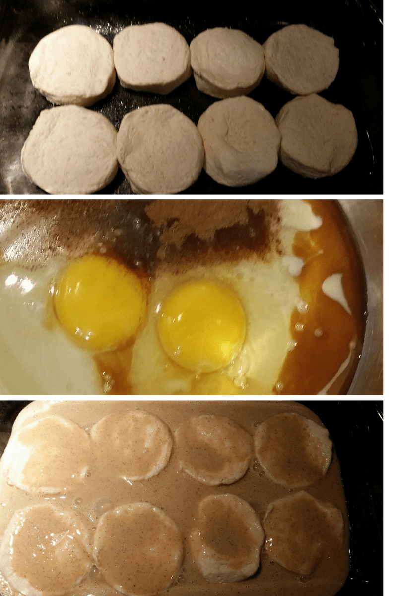 Easy French Toast Biscuit Bake for Breakfast 2