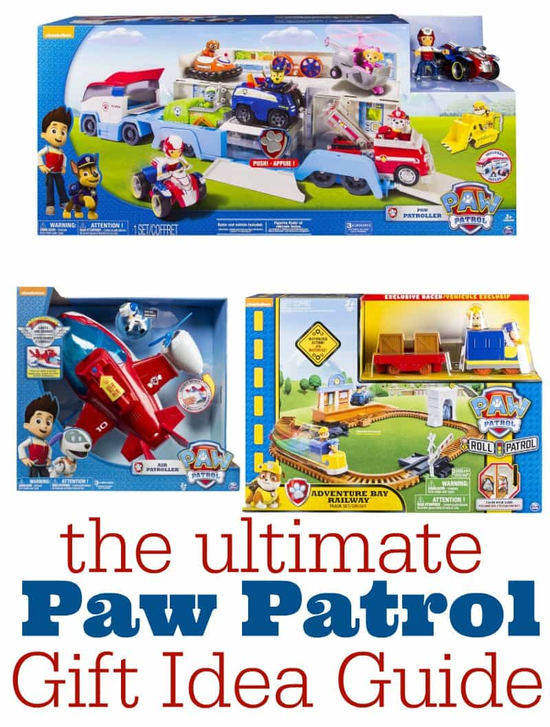 The Ultimate Paw Patrol Gift Idea Guide for Kids