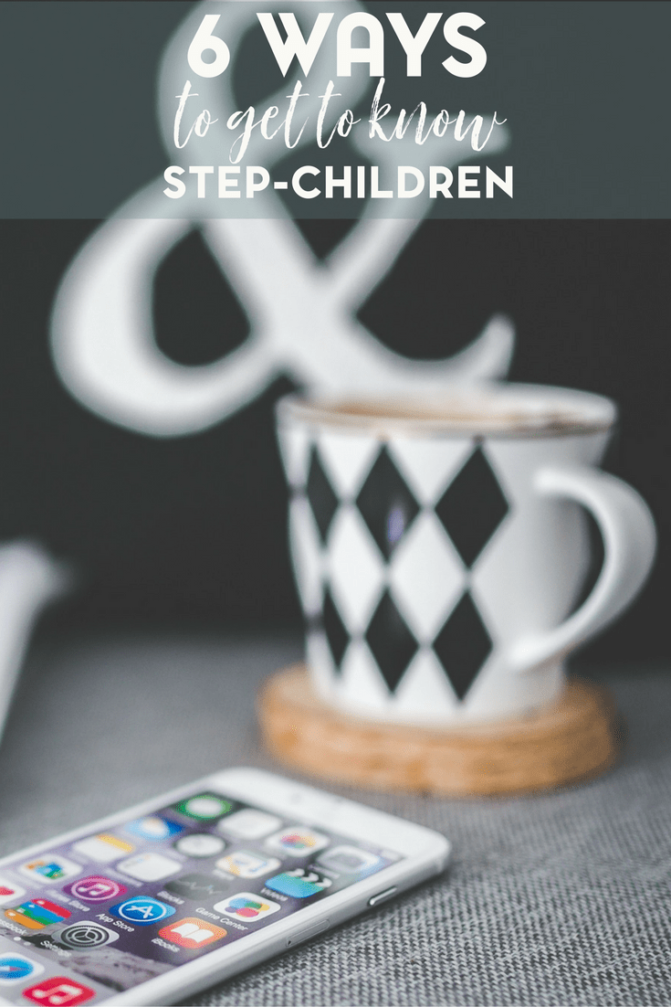 Step parenting can be a tricky topic. There is no manual for parenting to begin with. Here are 6 ways that step parents can get to know their step children.