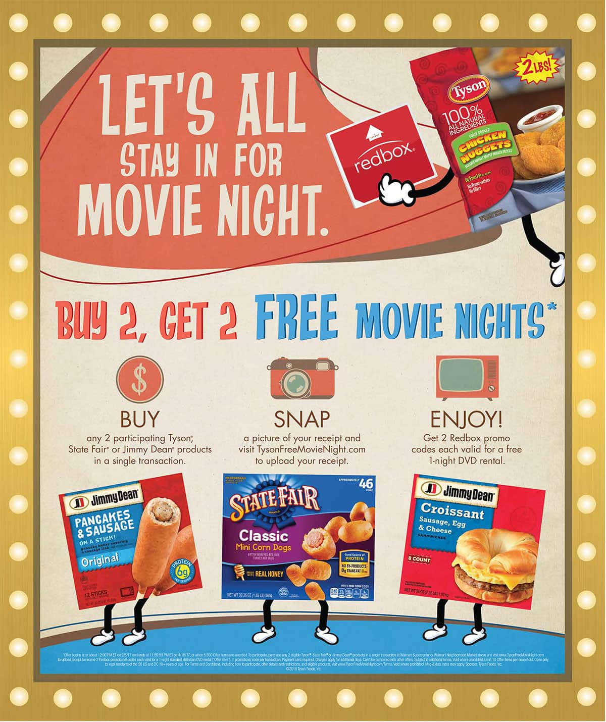 A Fun and Simple Twist on Family Movie Night #TysonFreeMovieNight 2