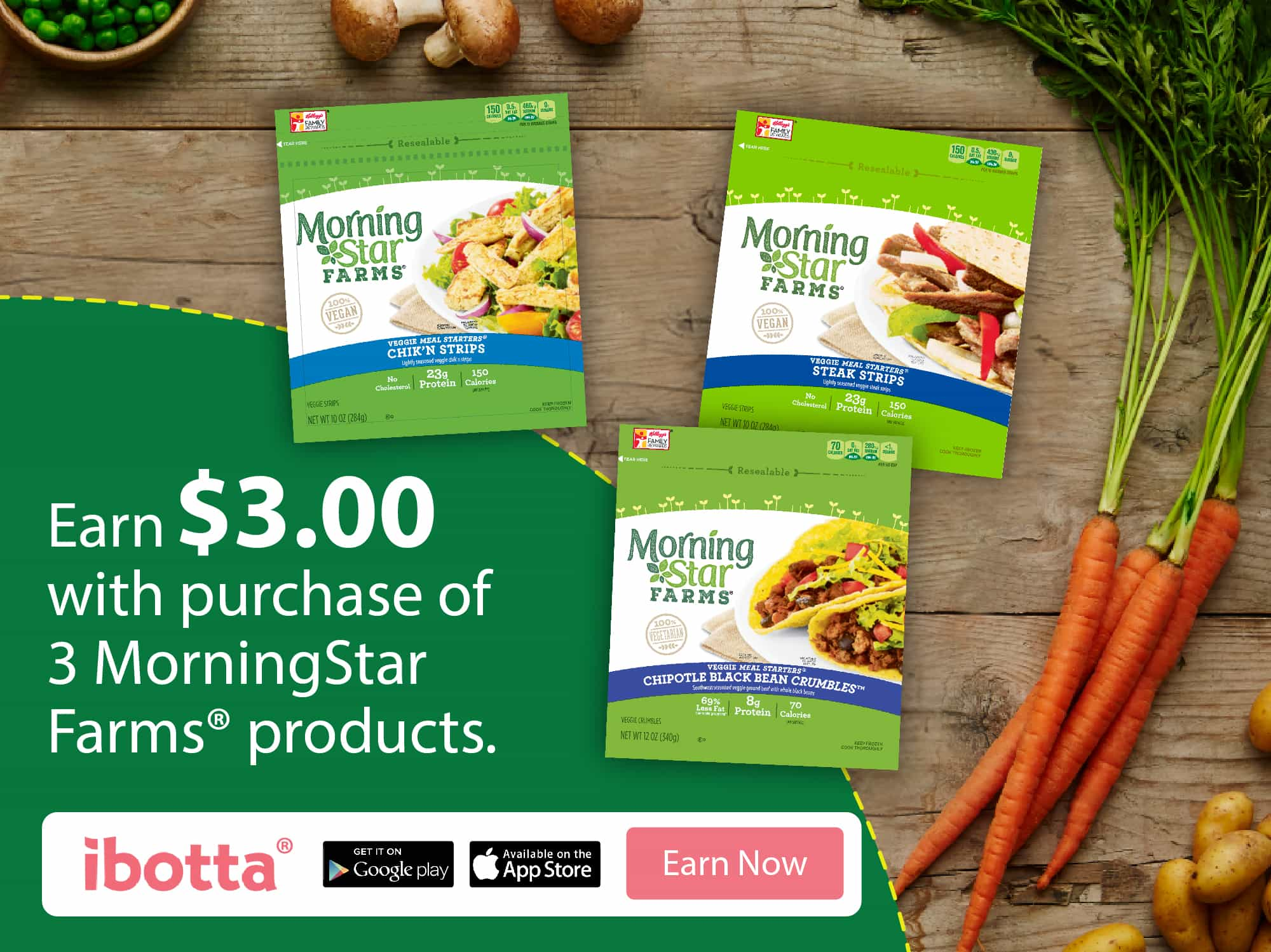 The New Year is a Great Time to Earn Money with MorningStar Farms® 1