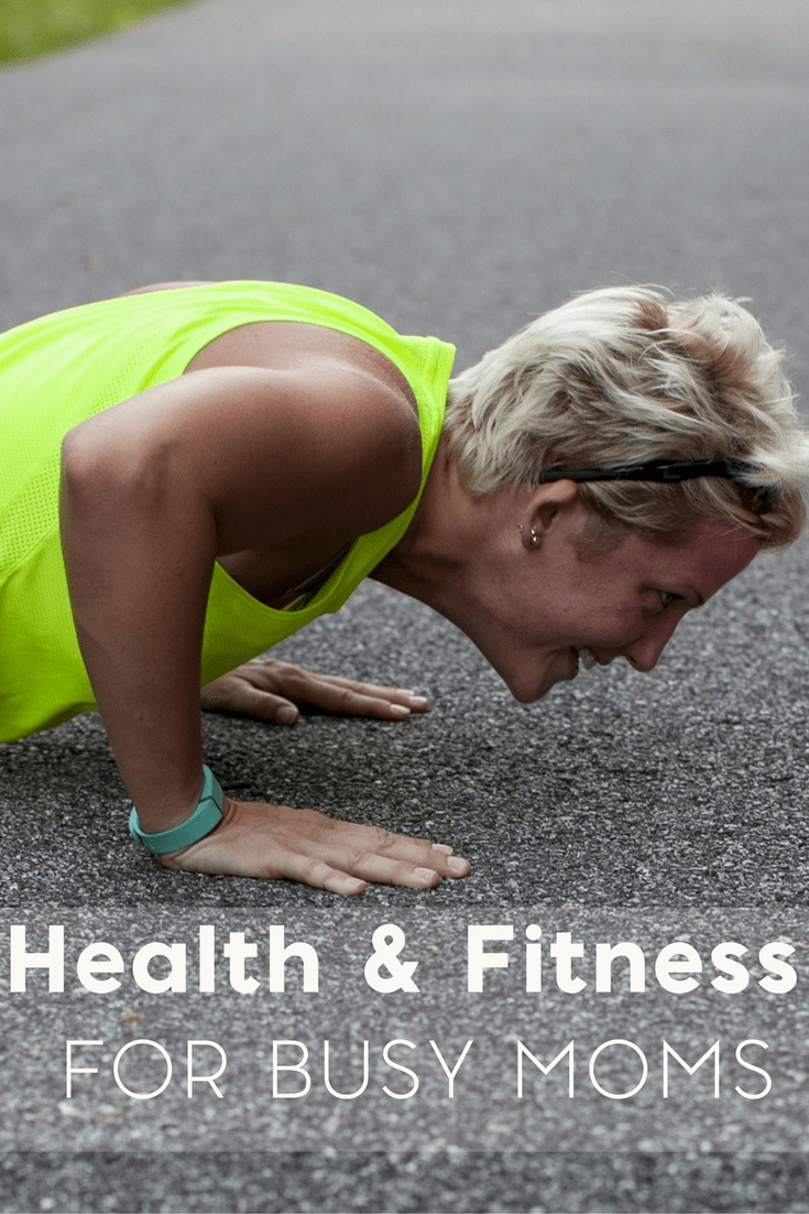 If you've been putting off your health and wellness, be sure to check out my busy mom's guide to health and fitness!