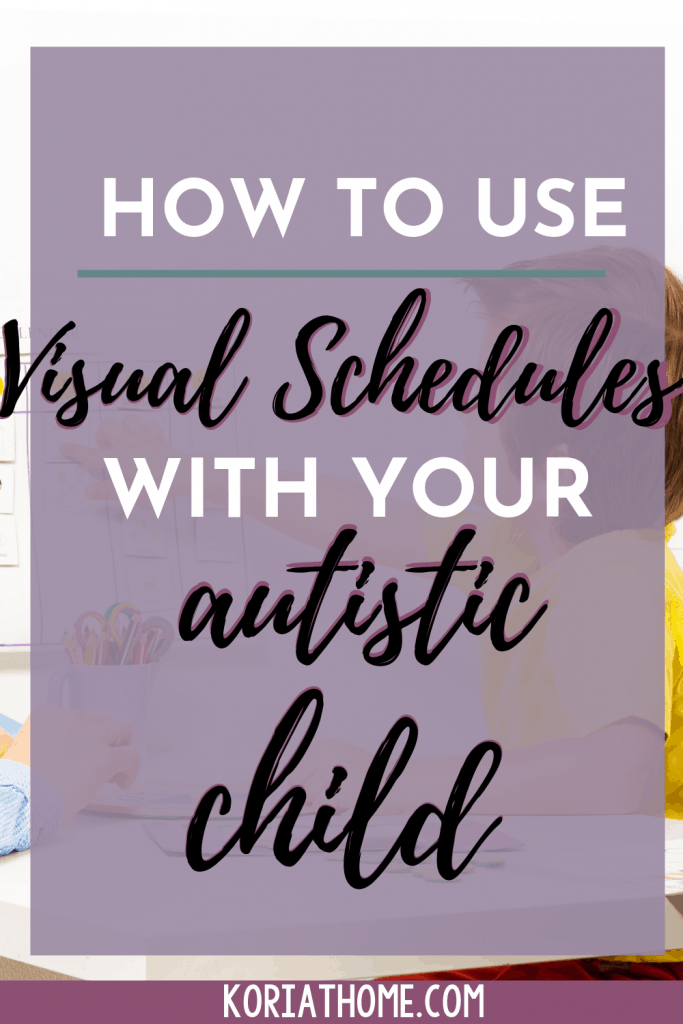 3 Meaningful Ways Autistic Children Benefit from Visual Schedules 1