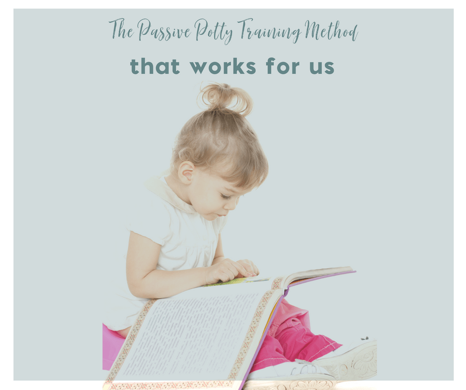 The Passive Potty Training Method that Works for Us 2