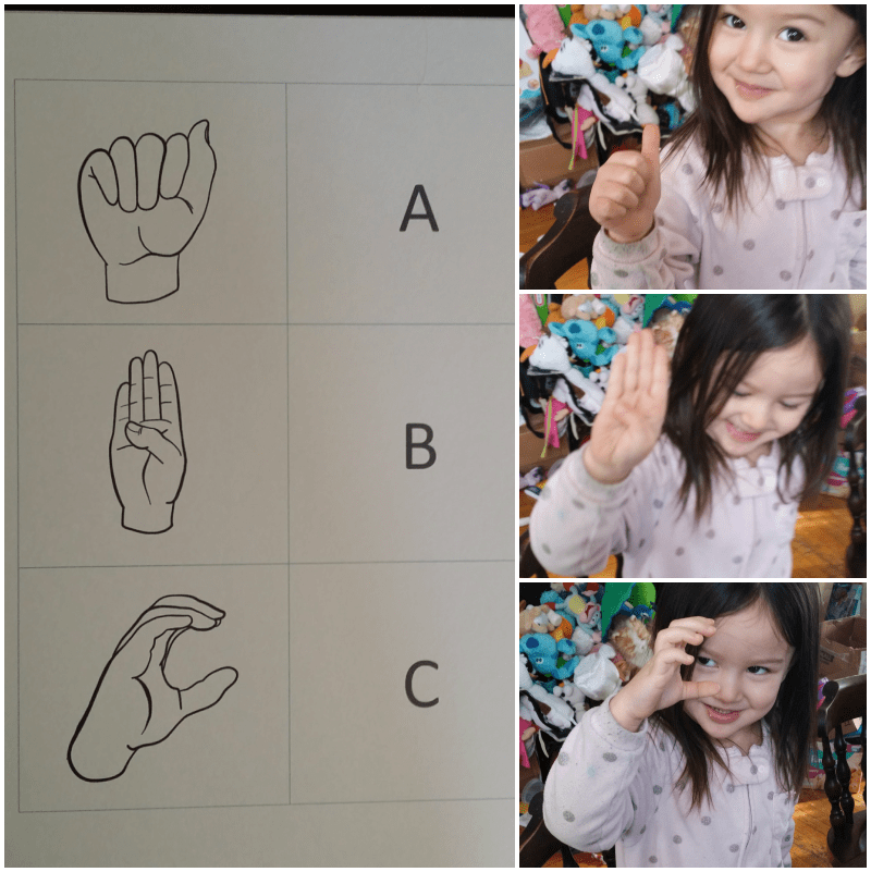graphic regarding Sign Language Flash Cards Printable called Free of charge Printable American Indicator Language Alphabet Flashcards