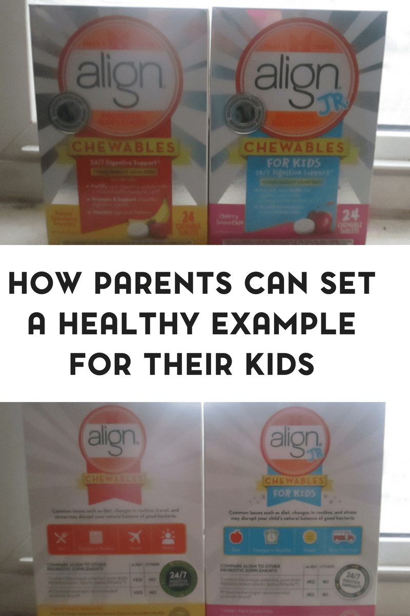 How Parents Can Set Healthy Examples for their Children