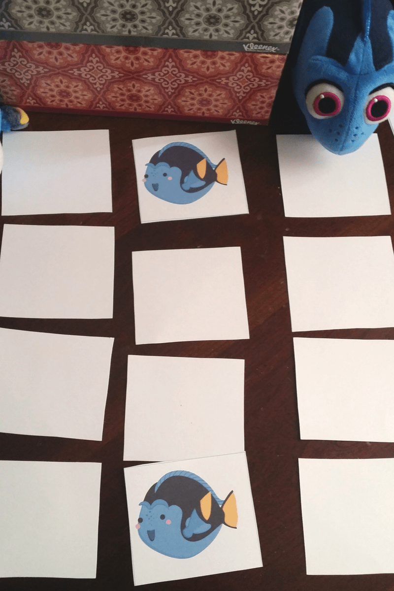 Finding Dory Inspired Printable Pack for a Mommy and Me Playdate 7