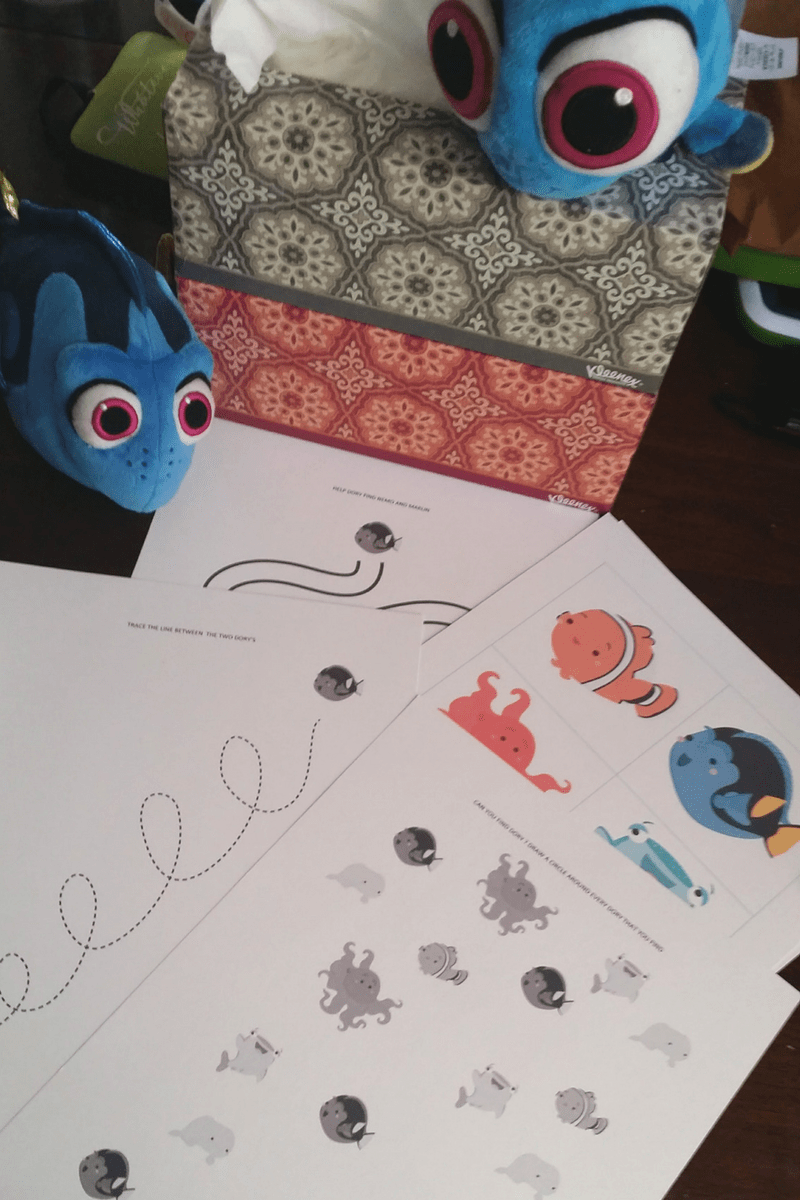Finding Dory Inspired Printable Pack for a Mommy and Me Playdate 2