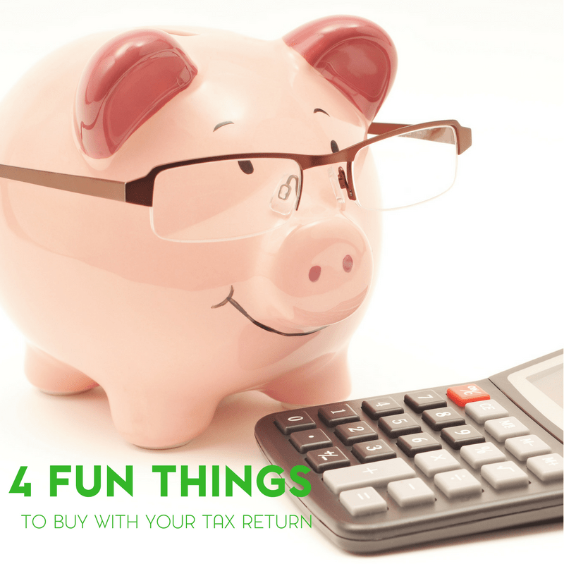 4 Fun Things for the Family to Buy With Your Tax Return