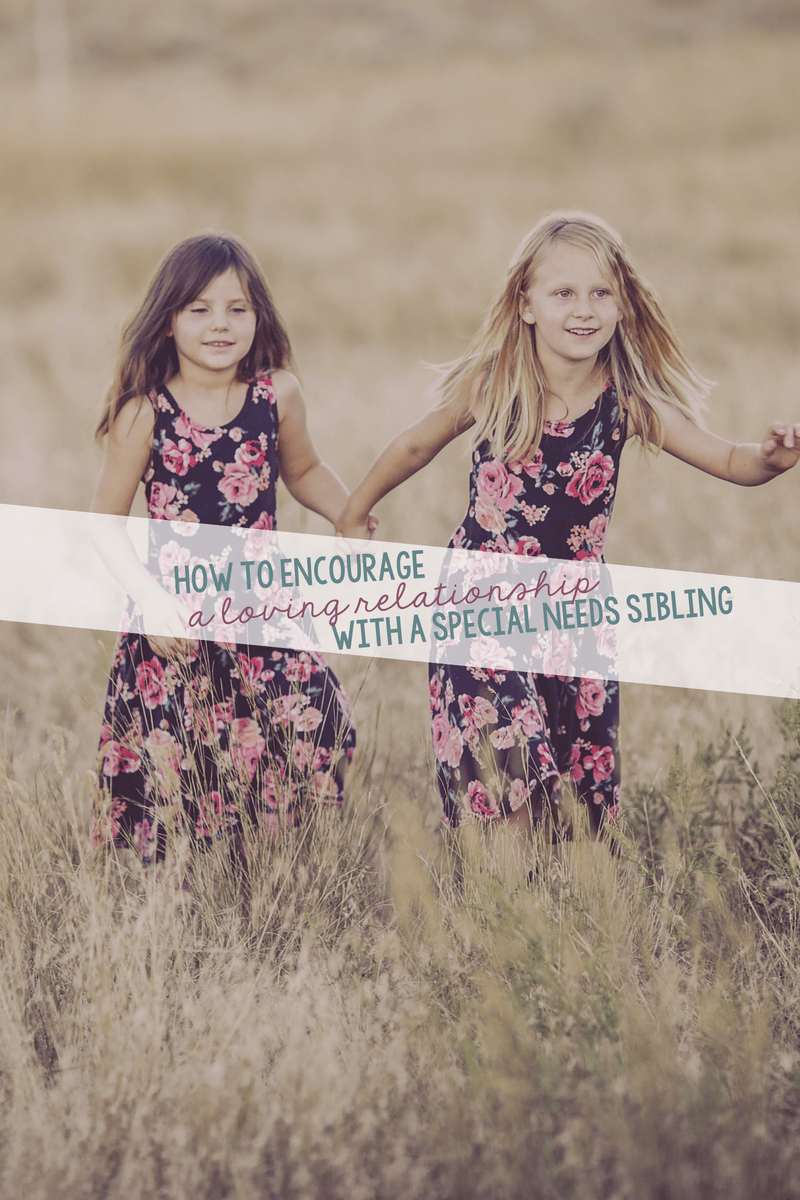 Siblings of special needs children need time and attention, too. Help provide them with that and also encourage a loving a relationship with a special needs sibling.