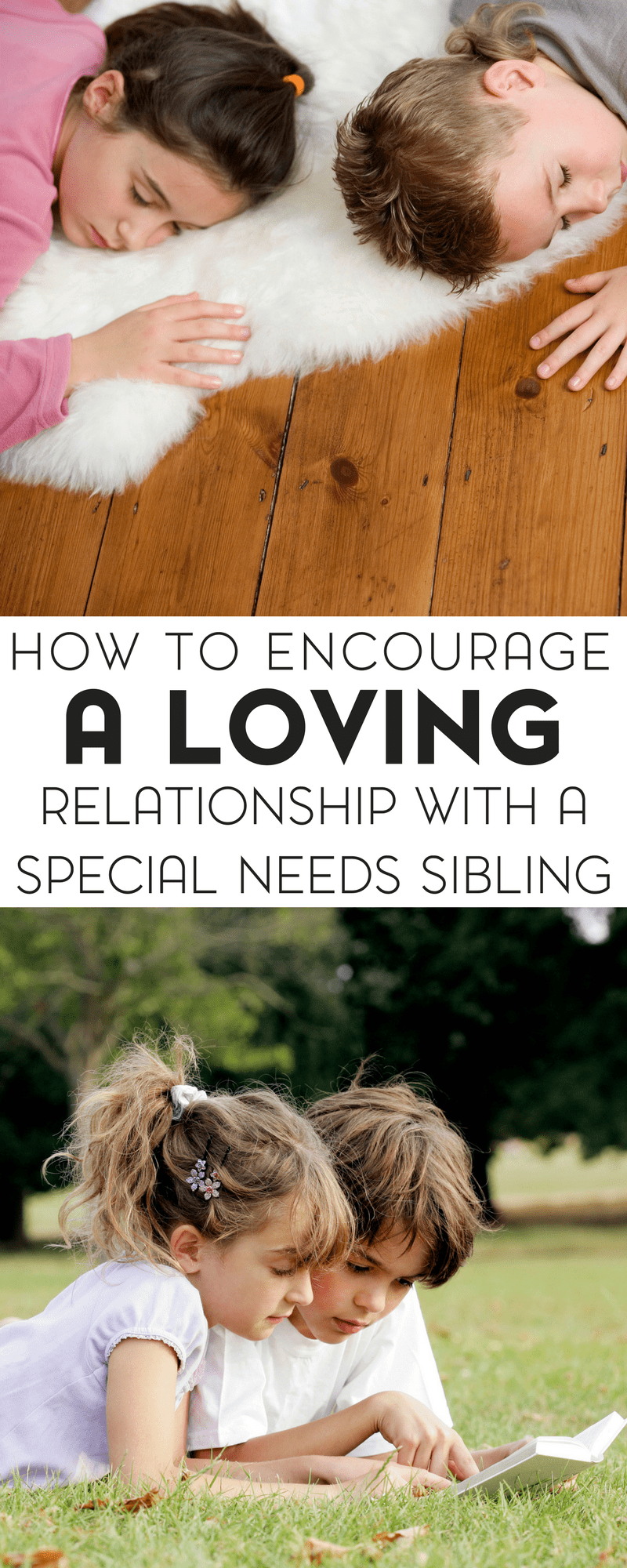 If you have children with and without special needs, be sure to check out these five tips for how to encourage a loving relationship with a special needs sibling.