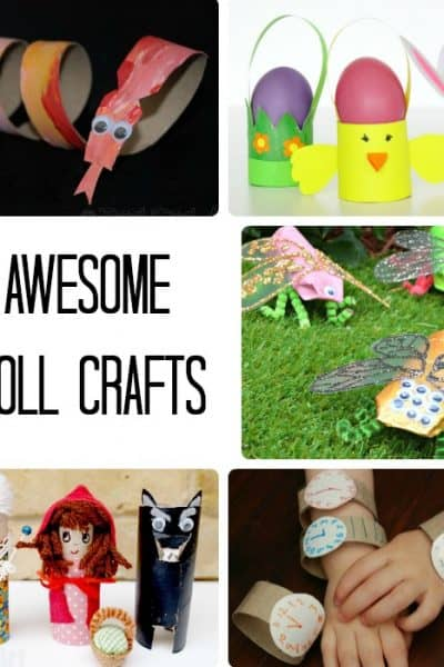 9 Awesome Toilet Paper Roll Crafts for Kids