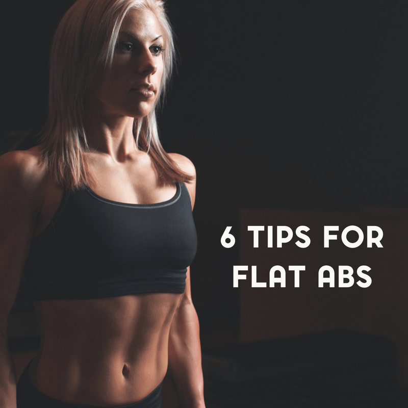 6 Simple Tips for Flat Abs That Don't Involve Crunches