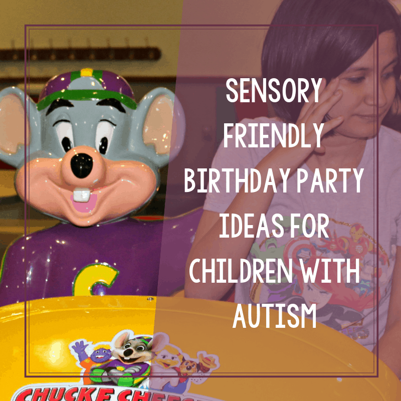 Sensory Friendly Birthday Party Activities for Children with Autism 4