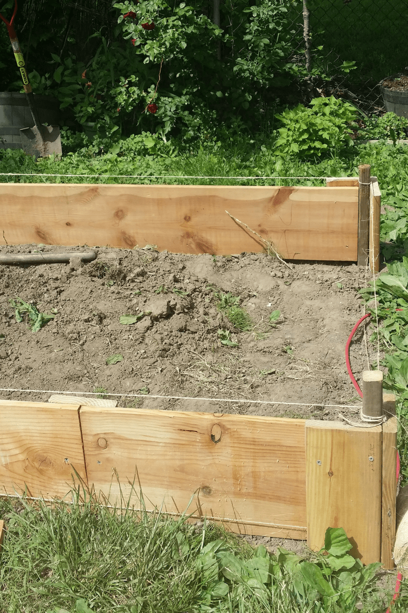 How to Make a Raised Garden Bed from Dresser Drawers 3