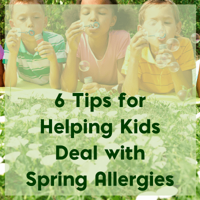 6 Tips for Helping Kids Deal with Spring Allergies