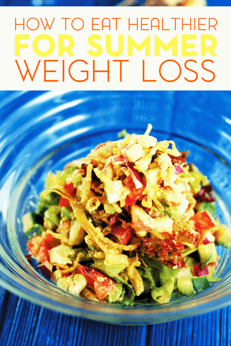 Losing weight is a goal that many people seem to have. Here are some tips on how to eat healthier for summer weight loss.