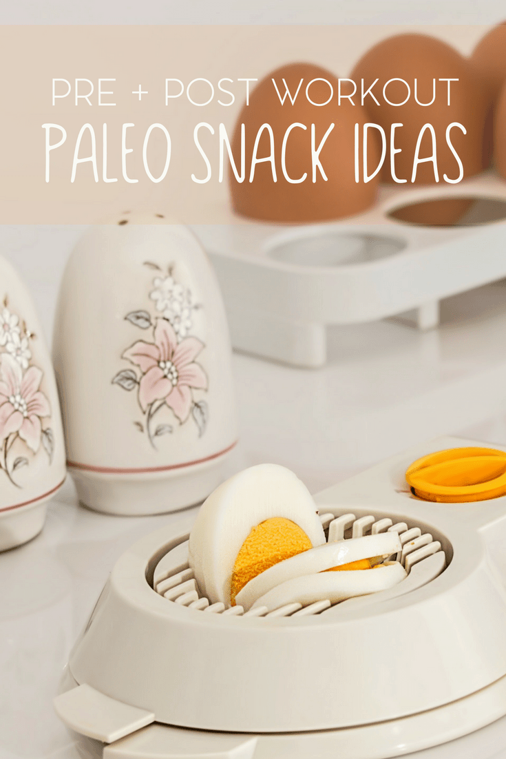 The paleo diet is incredibly popular. Here are a few pre and post workout paleo based snack ideas.