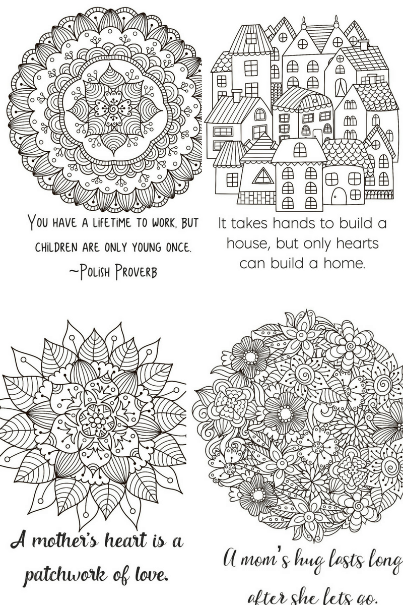 Looking to have a little me time? Check out my free motherhood quotes coloring book!
