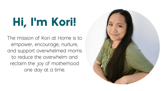 Welcome to Kori at Home! I'm Kori and I cannot wait to get to know you better. The purpose and mission of Kori at Home is to encourage, empower, and nurture moms from pregnancy and beyond. Be sure to check out my free Content Club!
