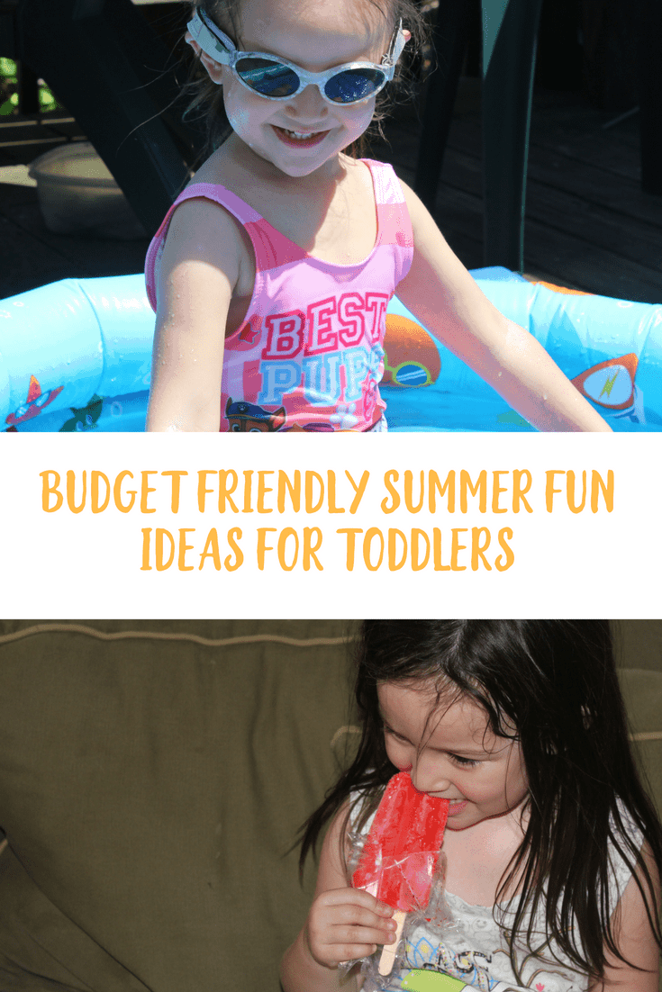 Stop thinking that you have to spend money to have fun. I'm sharing budget friendly summer fun ideas for toddlers and a free ice pop matching game.